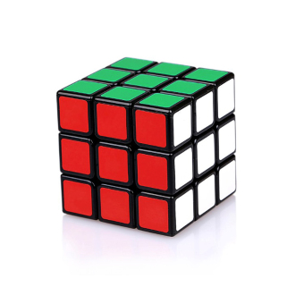 Harga Rubik's Cube Children Speed Cube Professional Developmental Game Magic Puzzle Black Twist Puzzles Toy