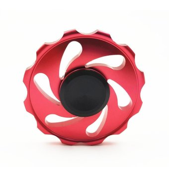 New EDC Hand Spinner Gyro Wheel Pressure Cyclone Finger Finger Spiral Special - intl