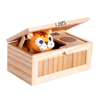 Harga Leave Me Alone Box Useless Box Most Useless Machine Don't Touch Tiger Toy Gift - intl