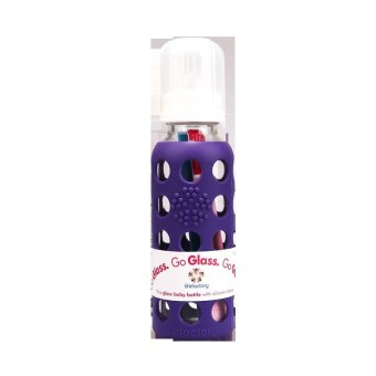 Harga Lifefactory 9oz Baby Bottle Royal Purple 1s
