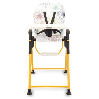 Harga Lucky Baby® 501344 Party™ High Chair - Yellow