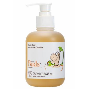 Harga Buds Cherished Organics - Happy Baby Head To Toe Cleanser 250ml
