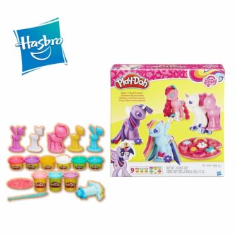 Harga Hasbro Play-Doh My Little Pony Make 'N Style Ponies - B0009