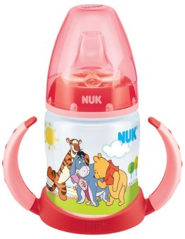 Harga NUK Premium Choice Disney PP Leaner Bottle with silicone spout (150ml) -Winnie The Pooh (2)