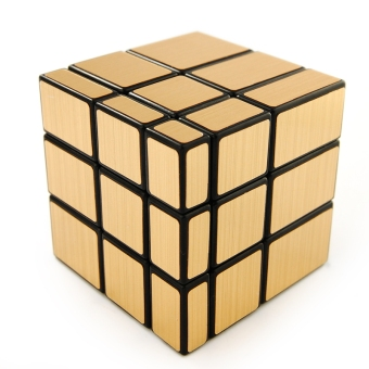 Harga Oostifun Shengshou Mirror Blocks Puzzle 3x3 Golden Mirror puzzle speed Cube