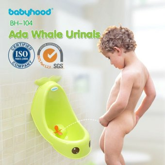 Harga BABYHOOD Ada Whale Urinals (Blue). Toilet training. Urinal. Toddler Toilet Trainer. Baby Potty.