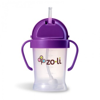 Harga Zoli Bot 270ml Sippy Cup (Purple)