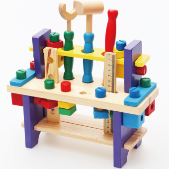 Harga Kids wooden work bench