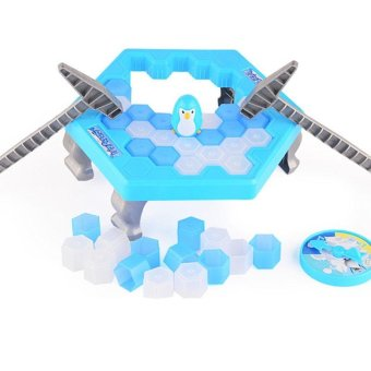 Harga Ice Breaking Save The Penguin Ice Pounding Penguin Ice Cubes Save Penguin Knock Ice Block Wall Desktop Education Toy - intl