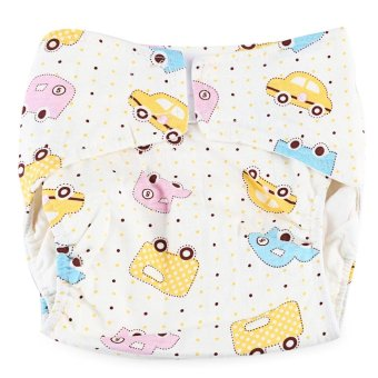 Harga Cartoon Cloth Diaper Cotton Nappy for Babies - intl