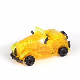 Harga Coolplay CP9061 54PCS DIY Crystal 3D Furnish Classic Cars Cube Block Jigsaw Puzzle IQ Gadget Cute Souptoys - intl