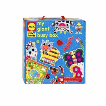 Harga Alex Little Hands My Giant Busy Box