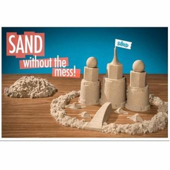 Harga Indoor Magic Sand with Inflatable Sand Tray and 28pcs Sand Mold/ Kinetic Sand Space Sand Creative for Kids / Learning Toys Kids Toy Creative Brain Development
