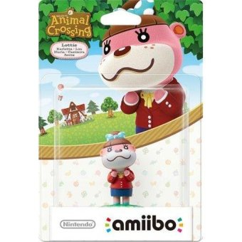 Harga Amiibo for Nintendo Action Figure Lottie (Animal Crossing Series)