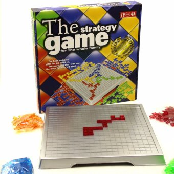 The Strategy Game Blokus Gladiatus 4 Players Strategy Chess Board Game Family Friends Part Fun Games - intl