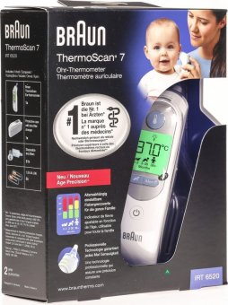 Harga Braun Thermoscan 7 IRT6520 Ear Thermometer