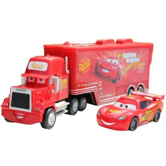 Harga Pixar Car No.95 Mack Racers Truck Lightning McQueen Toy Cars ForBoys Red - intl