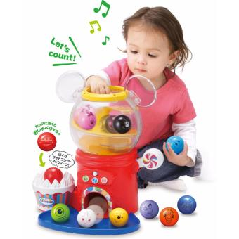 Harga TOMY DISNEY TALK N TALK GACHA! DISNEY & PIXAR CHARACTERS BALL VENDING MACHINE