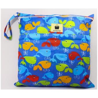 2-in-1 Wet/dry bag - Whale of Time