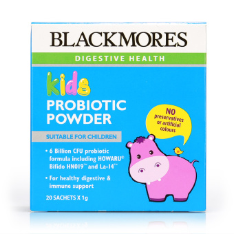 Harga Blackmores Kids Probiotic Powder 20sachets