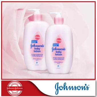 Harga Johnson's Baby Lotion Regular 500ml x 2pcs
