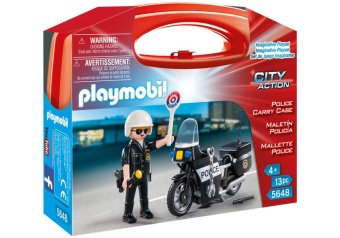 Harga PLAYMOBIL 5648 Police Mini Carry Case