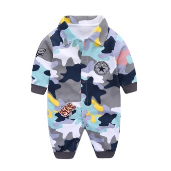 Baby coveralls Spring and Autumn newborn children romper climbing clothing summer baby clothes cotton men and women baby out clothes