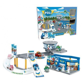 Harga Poli Transformation Robot car Poly Theme Parking 156