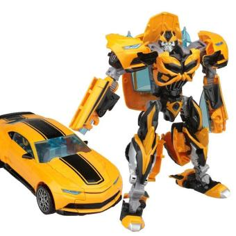 Harga Transformation 4 Bumblebee Toys Hobbies Deform Robots Action Figures Toy Robot 712-9 - intl