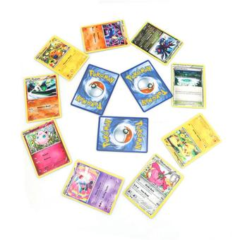 YingWei Random Picture Color Pokemon Iron Boxed Card Pokemon Fight Card-English version - intl