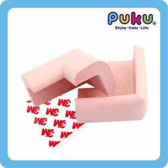 Harga PUKU L shape desk Edge Cushion Small (Pink)