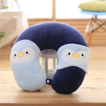 Harga Cartoon U-shaped pillow care cervical pillow U-shaped travel pillow sit car aircraft neck pillow nap pillow neck U-shaped pillow
