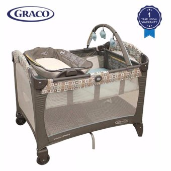 Harga Graco PNP Reversible Napper & Changer (Soho Square) - Local Warranty