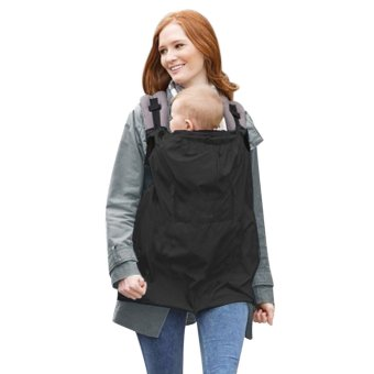 Harga Baby Cloak Mantle Cover Waterproof Backpack Carrier Cover (EXPORT)