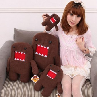 Harga Wholesale 8cm/18cm Domokun Funny Domo-kun Plush Doll Cute Domo Kun Plush Toys Kids Birthday Gift - intl
