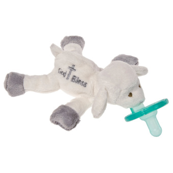 Harga WubbaNub God Bless Lamb Pacifier