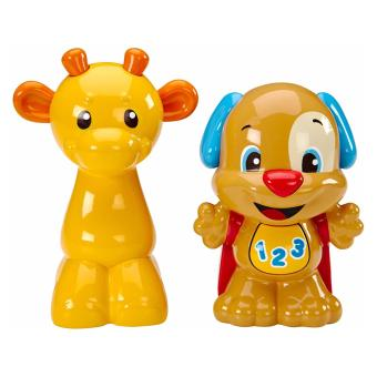 Harga Fisher-Price Laugh & Learn Talk 'N Teach Puppy & Giraffe