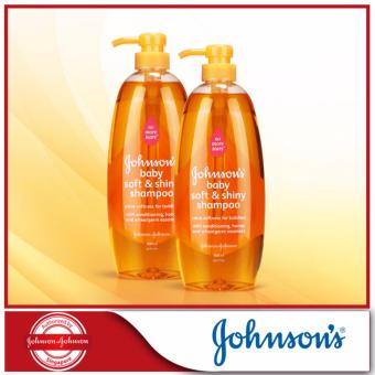 Harga Johnson's Baby Soft & Shiny Shampoo 800ml x 2pcs