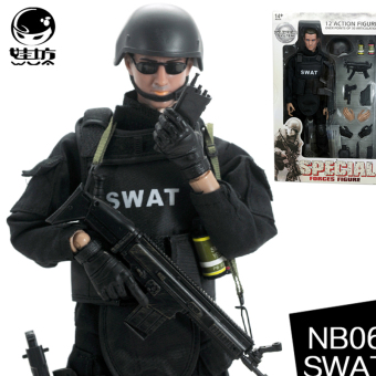 Harga Elite gun mold joint male model can be moving even
