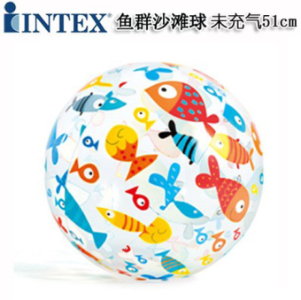 Harga Intex cartoon PVC adult children's beach water polo inflatable water polo