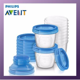 Harga Philips Avent Breast milk storage cups