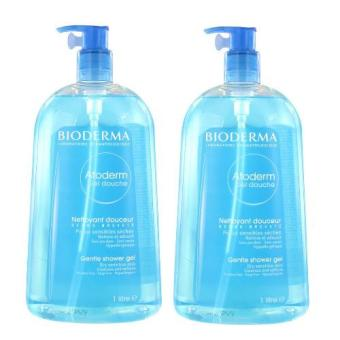 Harga Bioderma Atoderm Gel Douche Shower Gel 2x1000ml