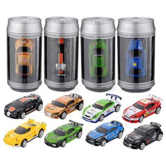 Harga Mini 1:58 Coke Can RC Radio Remote Control Race Racing Car Toy For Kids