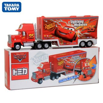 Harga Tomy cars alloy toy car racing container uncle jimmy mcqueen mackie truck boxed