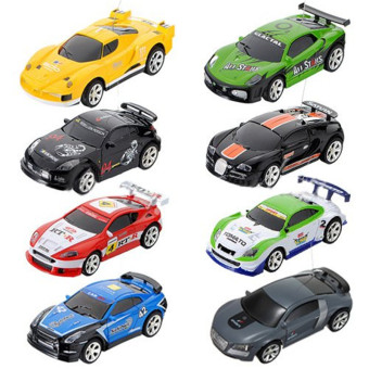 Harga Pop Can Mini RC Radio Remote Control Micro Racing Car