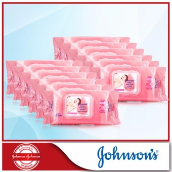 Harga Johnson's Baby Skincare Wipes 75s x 12 packs