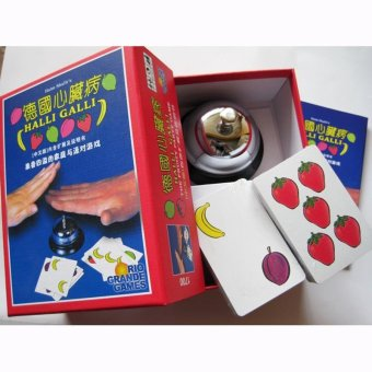 Harga Halli Galli Board Game 2-6 Players for Party/Family/Friends - intl