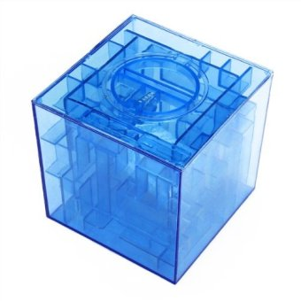 Harga Maze money Bank 3D Puzzle Box Piggy bank currency - Intl