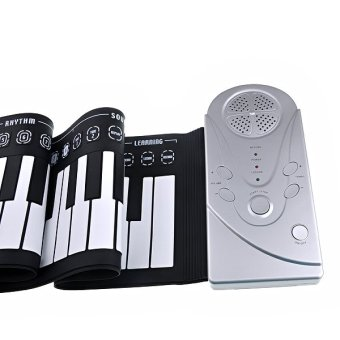Soft Keyboard Piano Portable Roll-up Piano