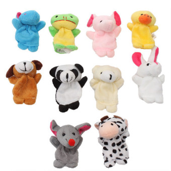 Harga Hang-Qiao Animals Finger Puppets for Baby (Multicolor)
